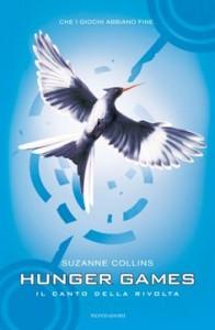 7) Suzanne Collins - Il canto della rivolta hunger games
